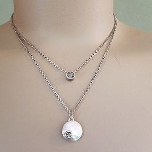 Lois Hill Sterling  necklace